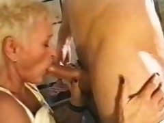 Making out with and getting BJ from mature