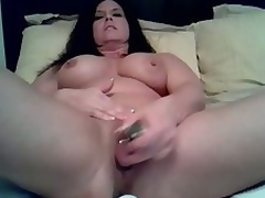 Mature doxy likes being alone so this babe can use her vibrating dildo to fuck her soaked cunt in this amateur masturbation clip clip. See her treat her cunt to a fucking session on her own.