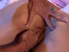 Jazy Berlin is sexy and mean and gets annoyed when the ravishing soft  Jewels Jade massages her to soft. that babe shouts at her and then flips her over and shows her how to give a very erotic massage. hardcore lesbian action at its best.