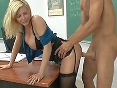 I fucked my teacher Ms. Holly Sampson