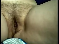 Amateur Busty Mature Mamma Rubbing Her Hairy Pussy