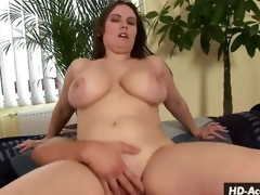 Sexy mama gets busy with various sex poses