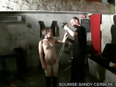 video bdsm soumise sandy bondage with the addition of fuck