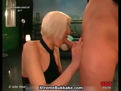Dirty blonde bitch gets horny integument 2