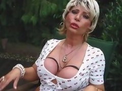 Piss Busty Blonde Mama Whore Start proceed And Drag inflate A Locate