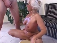 Piss: granny in satin - piss and intrigue b passion